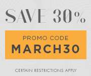 Save with promo code MARCH30
